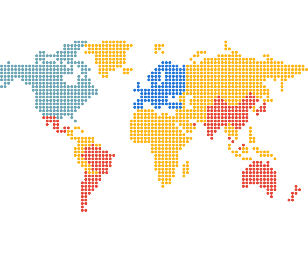 worldmap in pixels